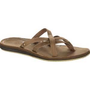 Comfortable Flip Flops For Women Teva Olowahu Leather Sandal Women S Backcountry Com