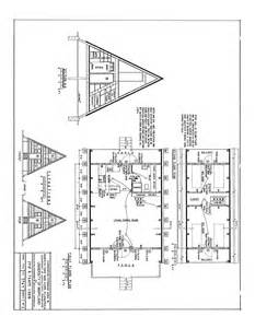 Free A Frame House Plans by Free A Frame Cabin Plans Blueprints Construction Documents
