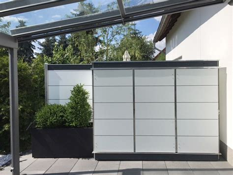 Gartenschrank Modern