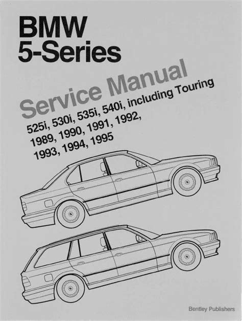 car service manuals pdf 1992 bmw 8 series navigation system bmw 5 series e34 set of pdf manuals