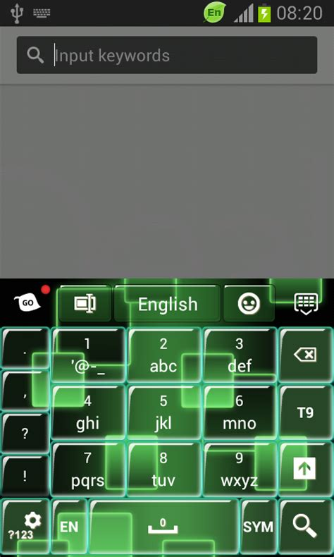 download themes galaxy mini neon keypad for galaxy s3 mini free android app android