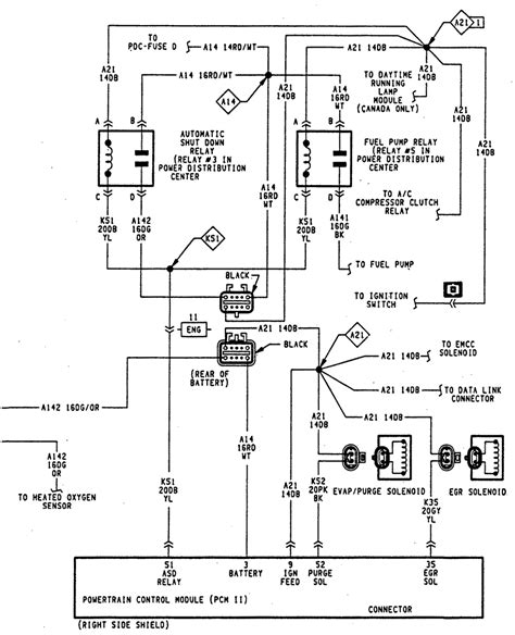 1997 dodge ram 2500 trailer wiring diagram wiring diagram