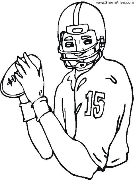 nfl quarterback coloring pages nfl quarterback coloring pages coloring pages