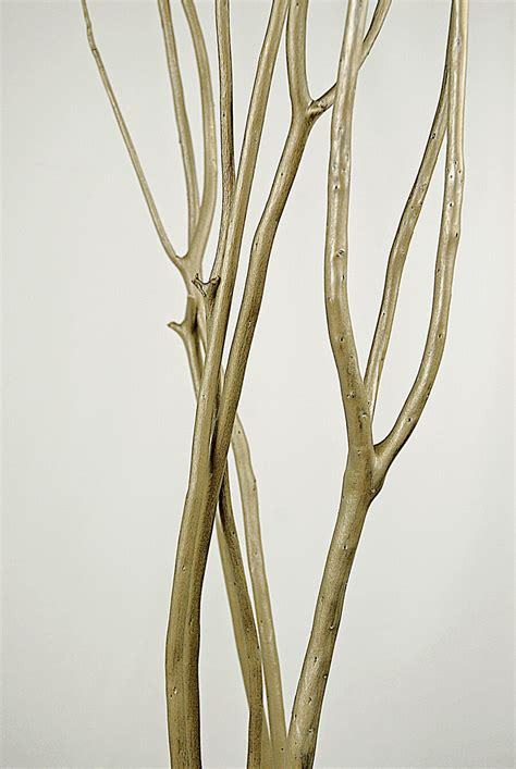 faux tree branches platinum gold mitsumata branches 3 branches 45 50 quot