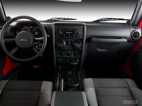 2007 Jeep Wrangler X Interior by 2007 Jeep Wrangler Interior U S News World Report
