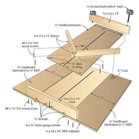 multitasking tablesaw sled