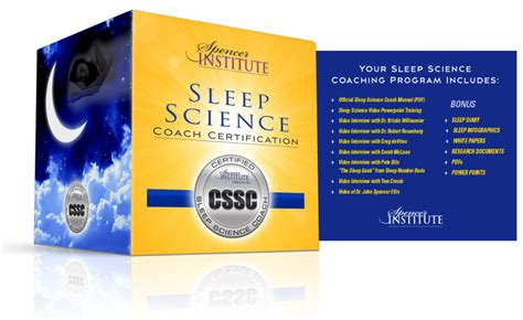 weight management consultant certification sleep science coach certification sleep consultant