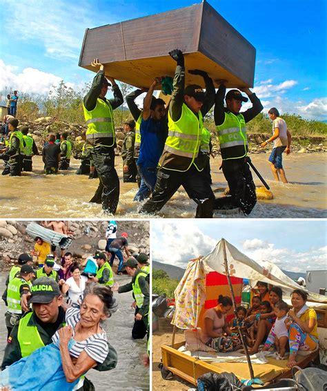 imagenes frontera venezuela colombia venezuela colombia migrant crisis wikidata