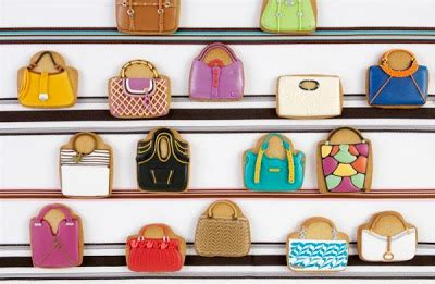 Idea Designer Handbag Cookies By Elenis by Nyで大人気 え 食べれるの Eleni S かわいすぎるアイシングクッキー Naver まとめ