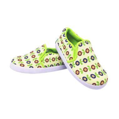 Sepatu Motif Bunga By M2m Shoes jual shuku motif bunga sunflower sepatu anak perempuan