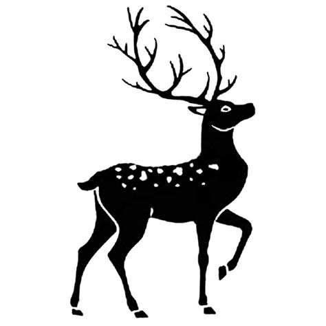 reindeer rubber st stag silhouette www pixshark images galleries with