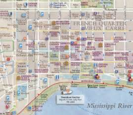 New Orleans French Quarter Tourist Map by French Quarter N Wahlins Dreaming Pinterest French
