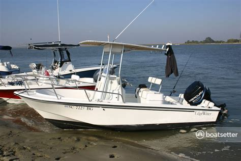 boatsetter boatbound rent a edgewater 188cc in mount pleasant sc on boatbound