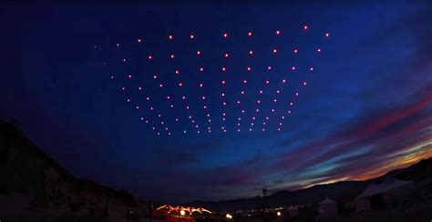 intel drone light show drone shows are about to replace fireworks your edm