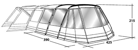 outwell montana 6 awning outwell montana 6 front awning 28 images outwell
