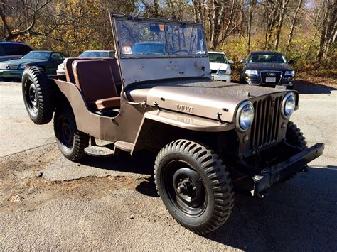 1948 Jeep Willys Buy 1948 Jeep Util Willys Weston Ma Weston