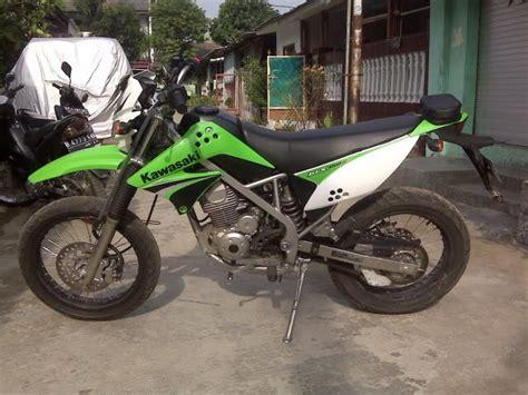 modifikasi motor kawasaki klx 150 motor sport