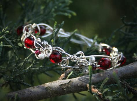 7g Dress Fores bloody forest bracelet by bodza on deviantart