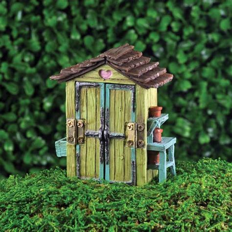 Garden Accessories Not On The High Mini Garden Shed Fairygardensuk Co Uk
