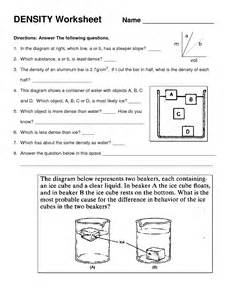 density calculations worksheet answers abitlikethis