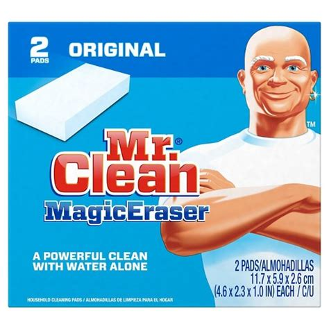 Sponge Magic Cleaner Pembersih Lantai mr clean magic eraser cleaning sponge 2ct target