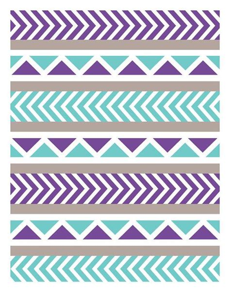 tribal pattern wallpaper for walls tribal mint purple wall art print by owl you need is love