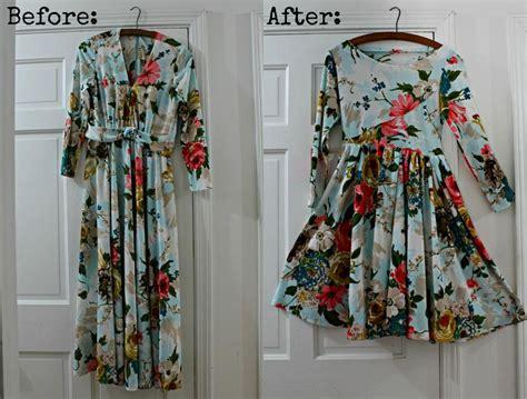 Dress Redo vintage dress redo update stuff i ve made