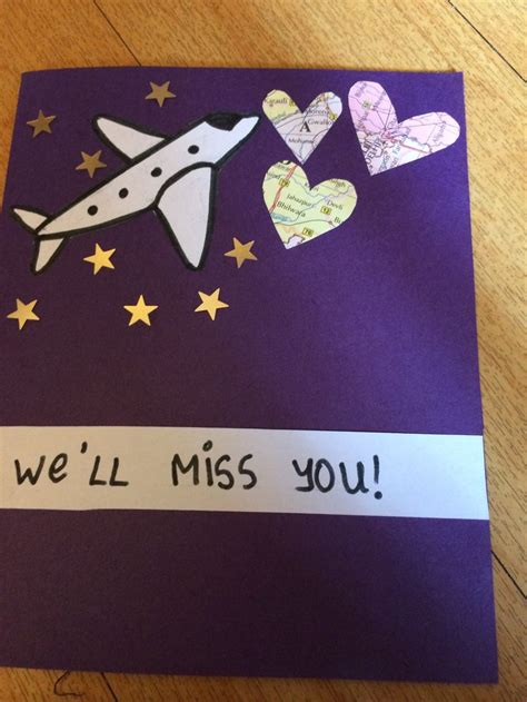 how to make a farewell card for a 17 best images about farewell cards on