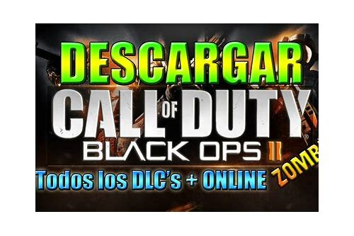 black ops 2 zombies descarga de multijugador offline