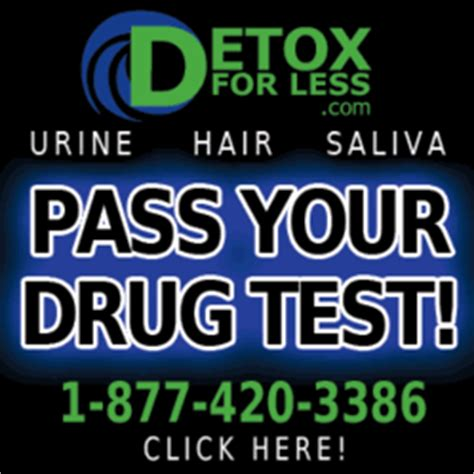 Detox To Pass A Test by Need To Pass A Test Detox For Less Makes It Easy