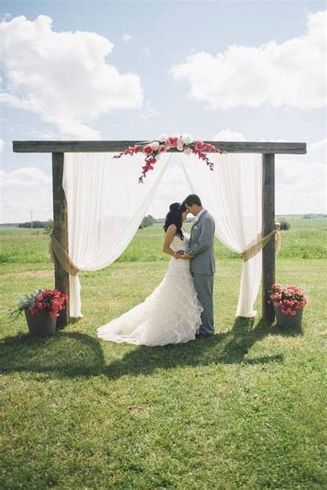 simple and beautiful outdoor wedding ideas pinterest