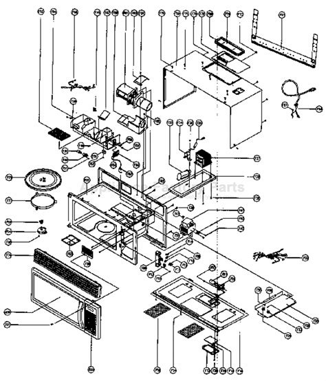 Parts For Mco160s Magic Chef Microwaves