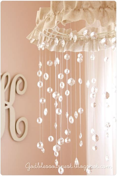 How To Make A Lamp Shade Chandelier 35 Adorable And Stylish Diy Baby Mobiles