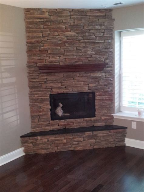 corner stone fireplace custom corner stone direct fireplace craftsman family