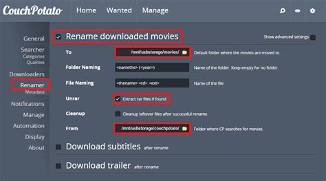 couch free movies configure couchpotato with usenet and torrents