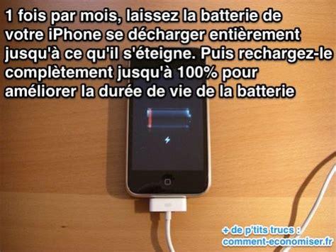 batterie iphone videz la enti 232 rement 1 fois mois pour gagner en dur 233 e de vie