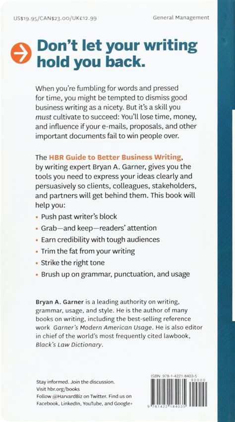 business letters ebook free hbr guide to better business writing ebook