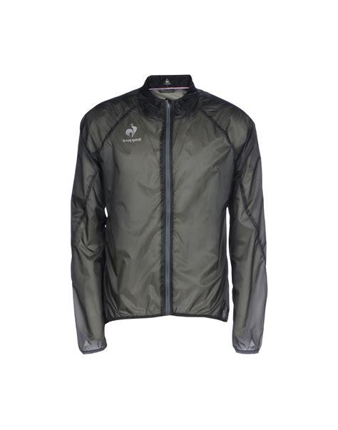 Le Coq Sportif Jacke by Le Coq Sportif Jacket In Gray For Lyst