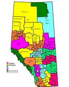 la canada school district map divisiones censales de alberta la