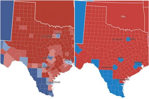 new york election results 2016 map county results live map comparison texas 2012 election results versus 2016