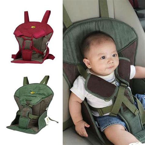 Baby Car Seat Portable a169 soft suede warm sponge child safety booster