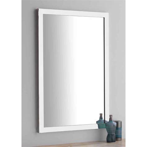 handmade rectangular bathroom mirror