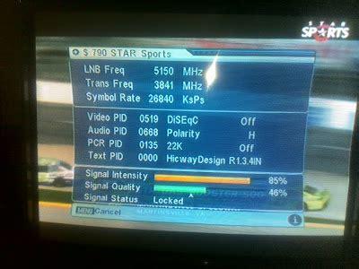 star sports biss channel now fta on asiasat 3s. ~ gunasat