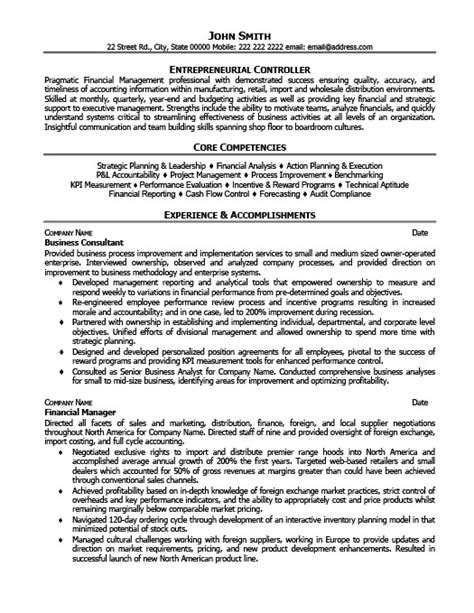 business coach resume template premium resume sles exle