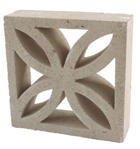 decorative blocks leaf block off white leaf block l 290mm w 290mm t 90mm
