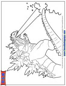 godzilla coloring pages 2014 breath godzilla coloring page h m coloring pages