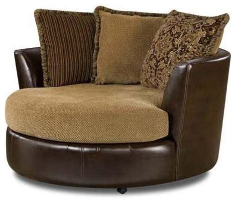 circular swivel armchair round swivel chair contemporary armchairs and accent chairs by shopladder