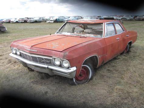 chevy impala parts 1965 chevy impala 4dr sedan ref698 parts