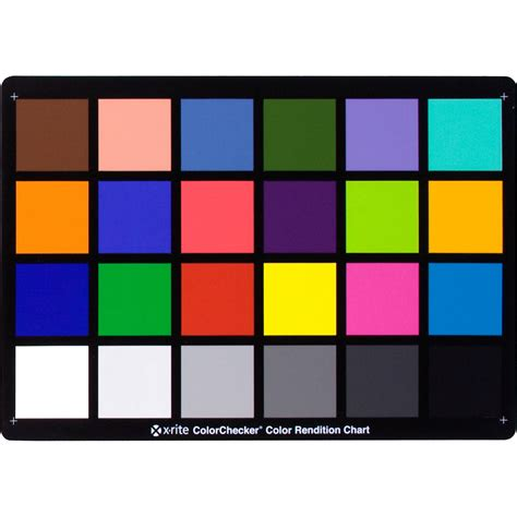 colorchecker calibration x rite m50101 colorchecker white balance card