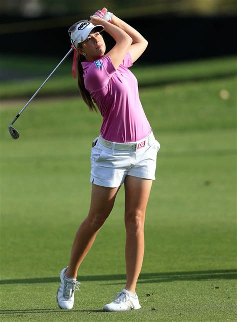 paula creamer golf swing defending chion stacy lewis michelle wie lexi